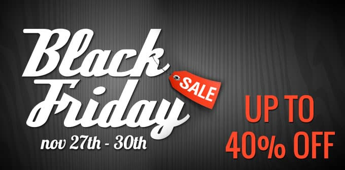 Black Friday Sale : Up To 40% OFF!!!